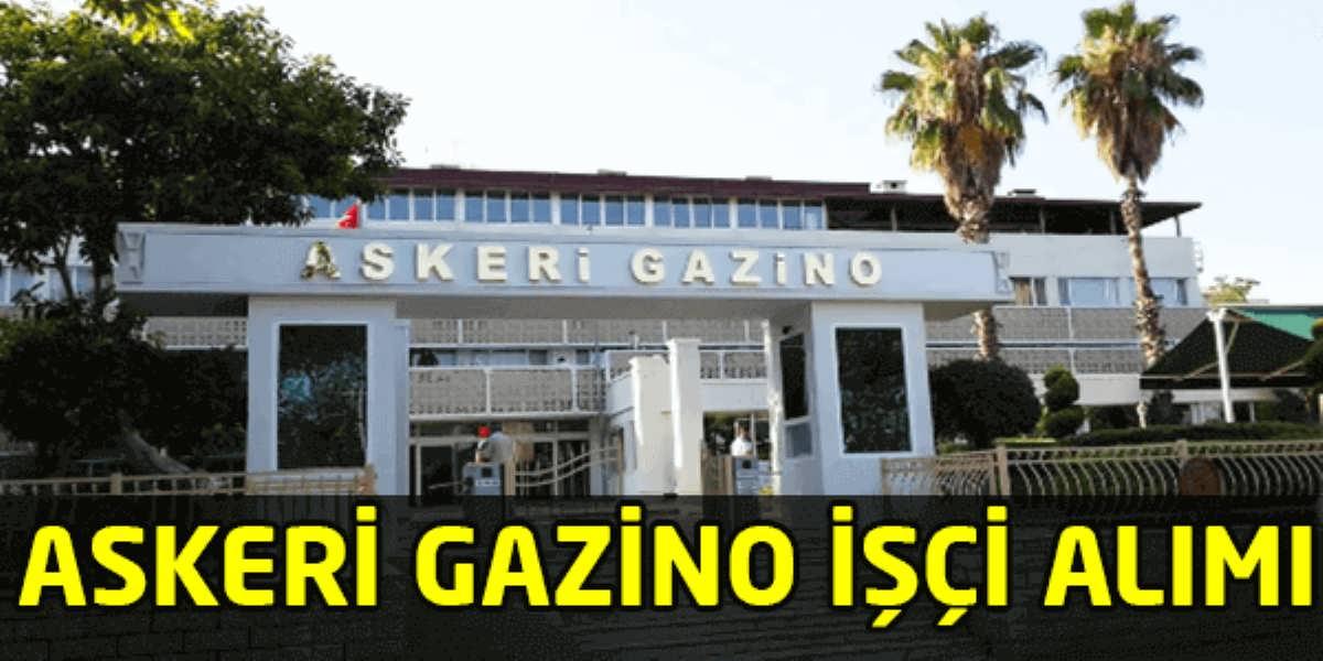 Çanakkale Askeri Gazino Müdürlüğü İşçi Alımı