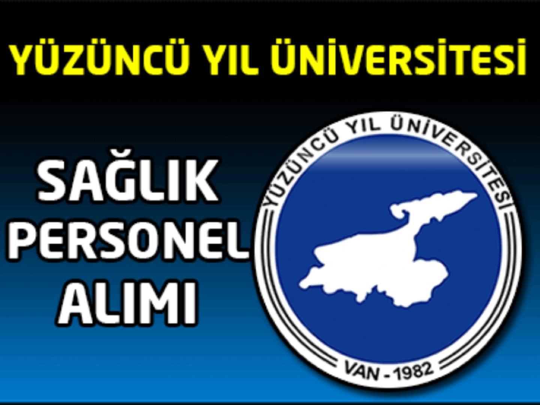 Yüzüncü Yıl Üniversitesi Sağlık Personel Alımı