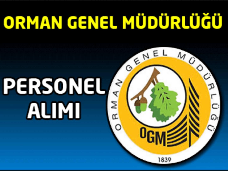 Orman Genel Müdürlüğü 2016 Yılı Mühendis Alımı