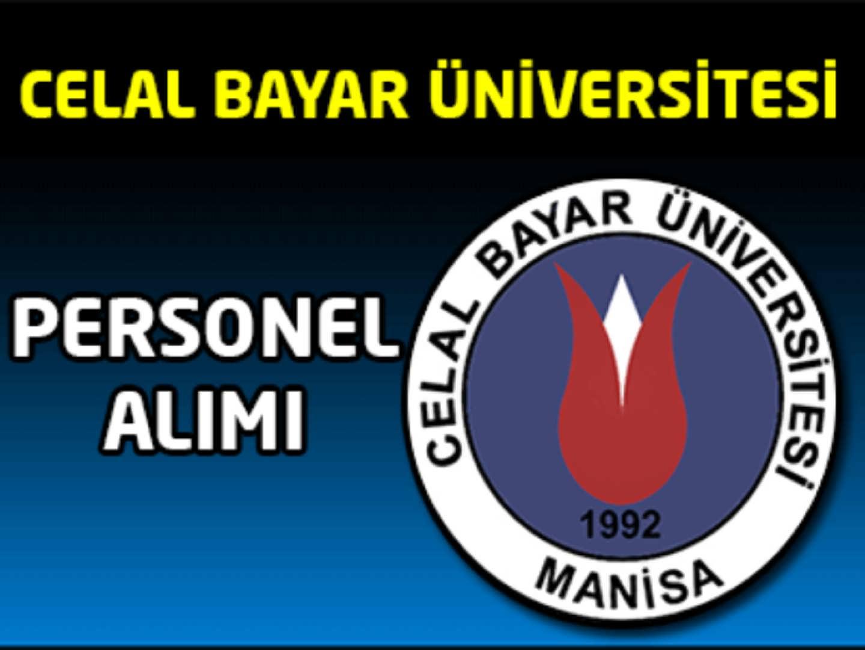 Celal Bayar Üniversitesi Personel Alımı 2016