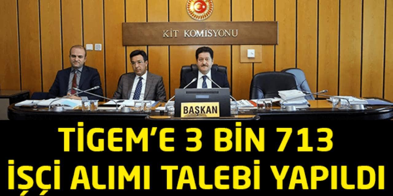 TİGEM'e 3 bin 713 İşçi Alımı Talebi Yapıldı