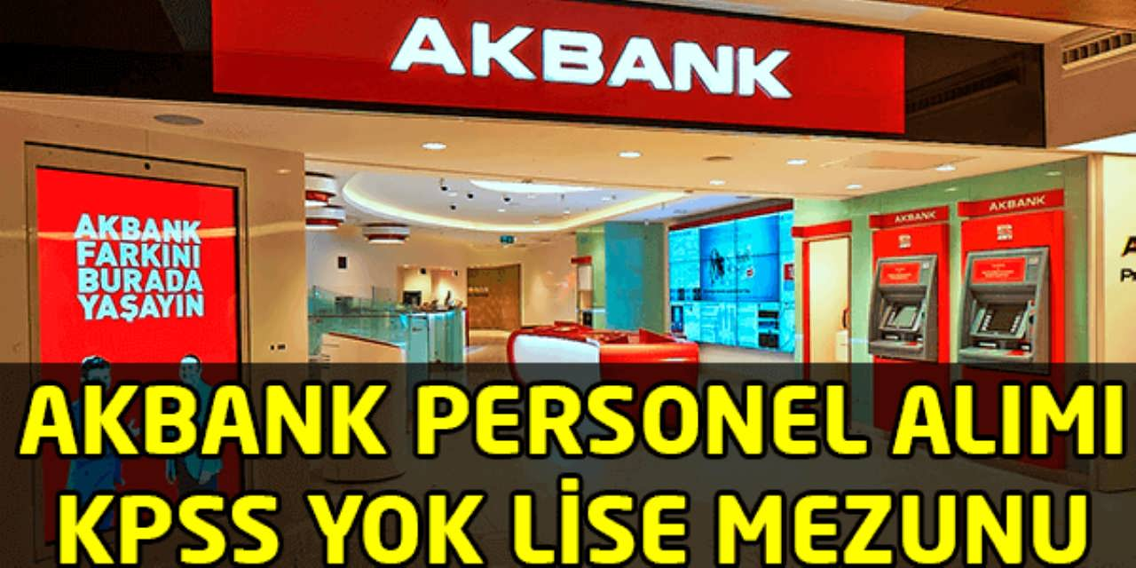 Akbank Engelli Personel Alımı 2016