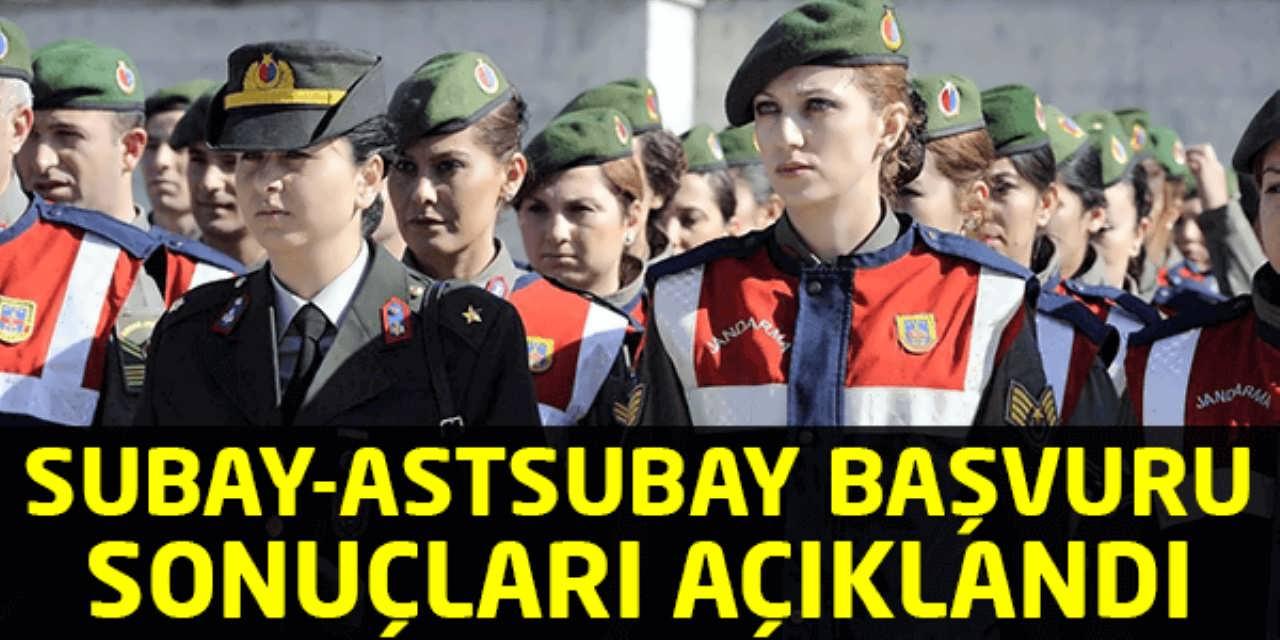 JGK Subay Astsubay Alım Sonuçları