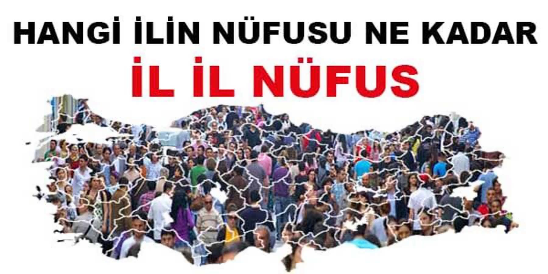 Türkiye Geneli 2015 Yılı Sonu İllerin Nüfusları Ne Kadar Oldu