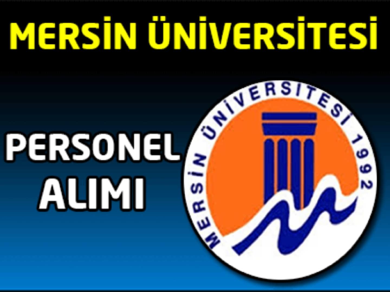 Mersin Üniversitesi Sağlık Personel Alımı