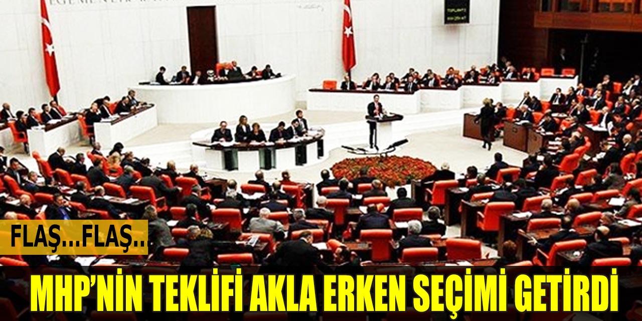 MHP'nin Teklifi Akıllara Erken Seçimi Getirdi