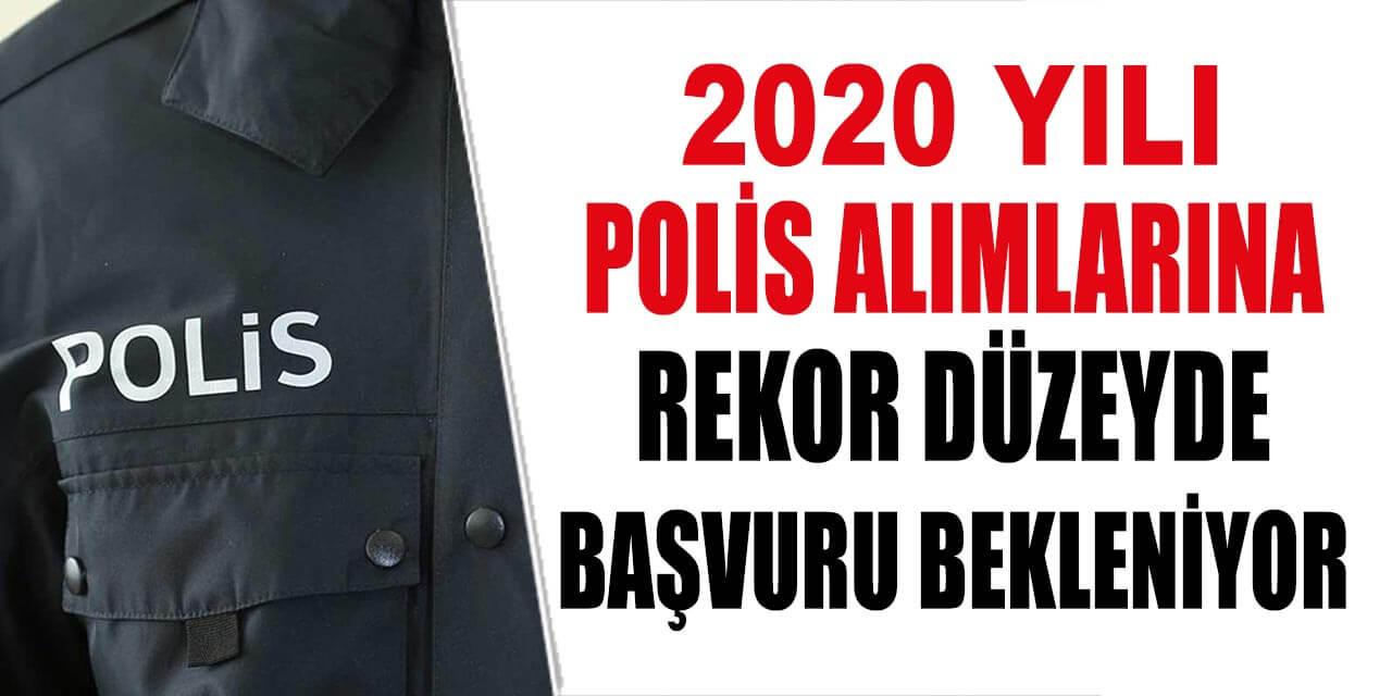 2020 POMEM Polis Alımlarına Rekor Başvuru Yapılması Bekleniyor