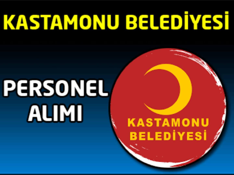 Kastamonu Belediyesi İşçi Alımı
