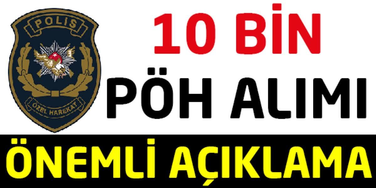 10 Bin Özel Harekat Polisi Alımı Açıklaması