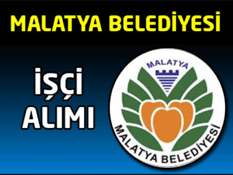 Malatya Belediyesi İşçi Alımı