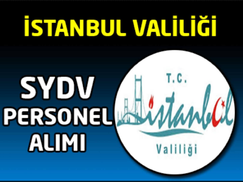 İstanbul SYDV Memur Alımı