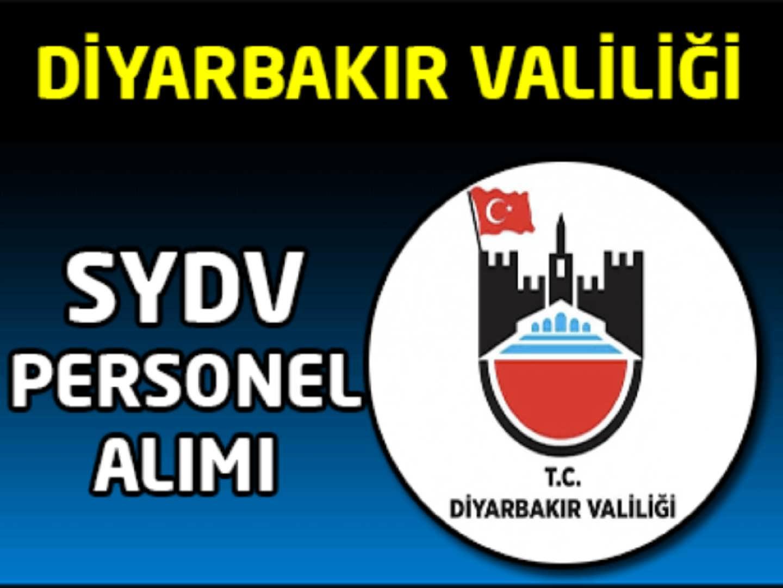Diyarbakır SYDV Memur Alımı