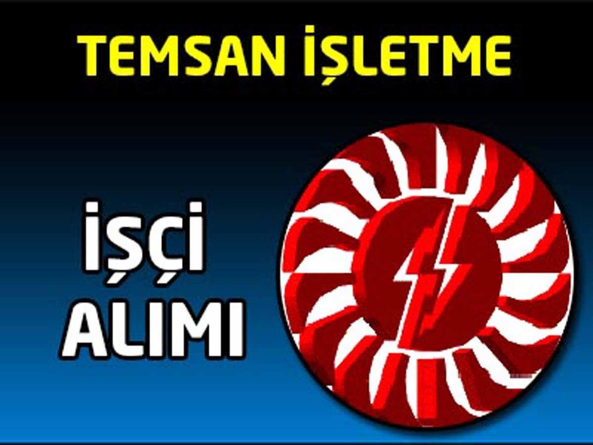 Temsan Diyarbakır İşletme Müdürlükleri Personel Alımı