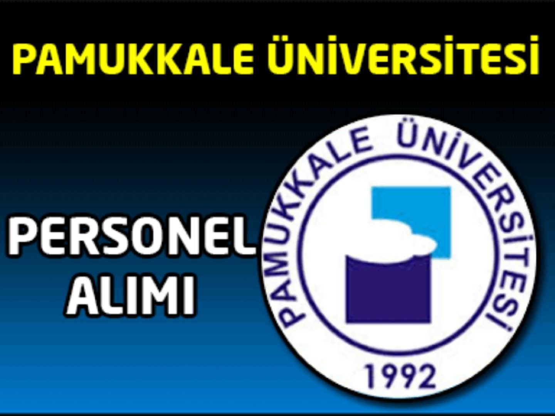Pamukkale Üniversitesi Sağlık Personel Alımı
