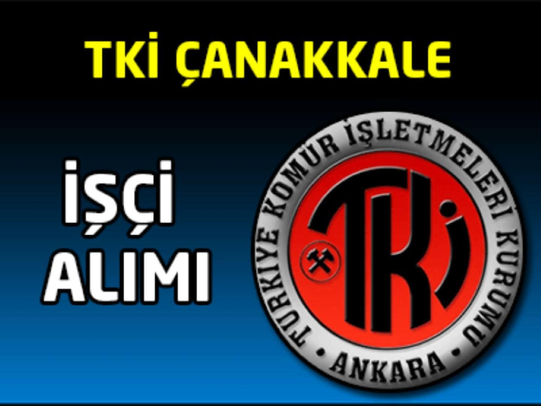 TKİ Kurumu Çan linyitleri İşletme Müdürlüğü Personel Alımı İlanı