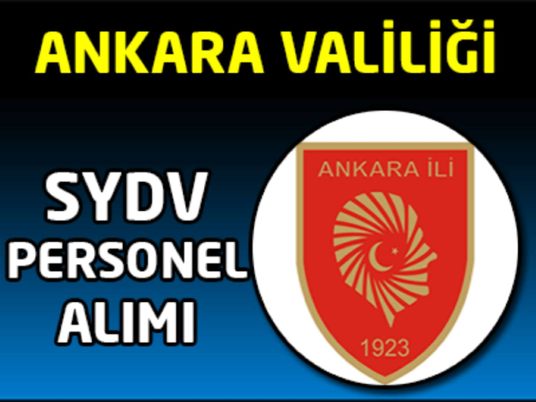 Ankara SYDV Memur Alımı