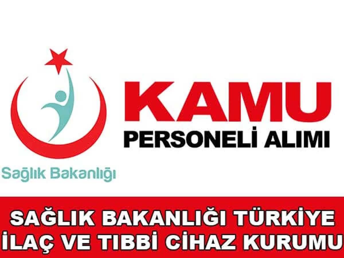 Türkiye İlaç Ve Tıbbi Cihaz Kurumu Sağlık Denetçi Yardımcısı Alacak