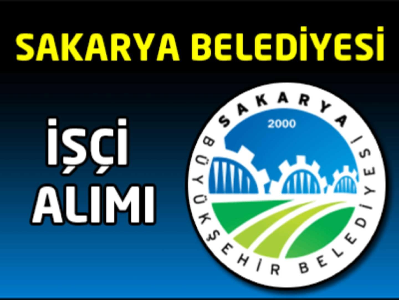 Sakarya Belediyesi İşçi Alımı