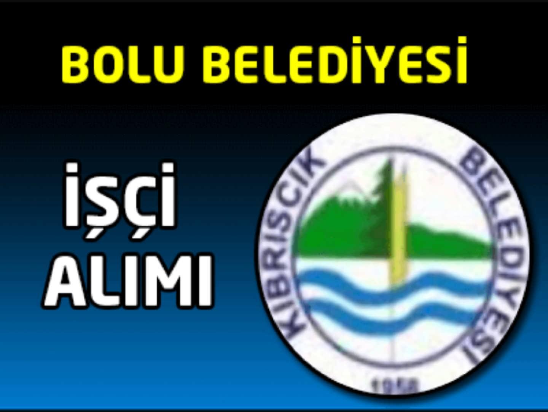 Bolu Belediyesi İşçi Alımı