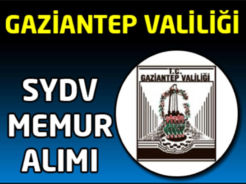Gaziantep SYDV Memur Alımı