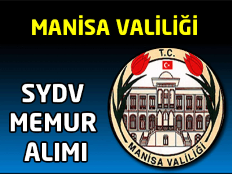 Manisa SYDV Personel Alımı