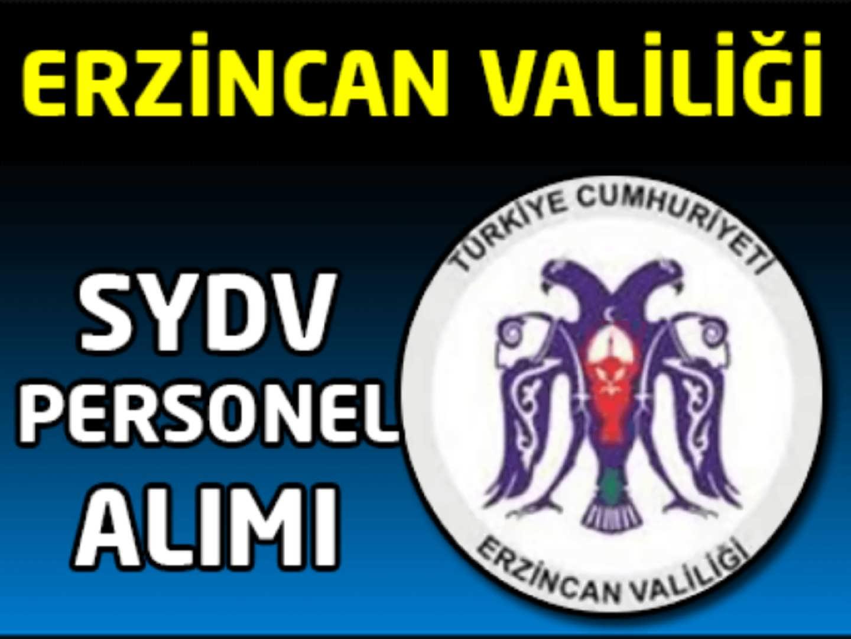 Erzincan SYDV Memur Alımı