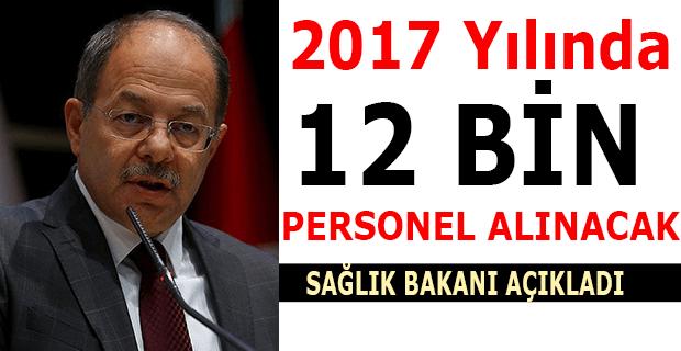 Sağlık Bakanı Açıkladı 12 Bin Personel Alınacak