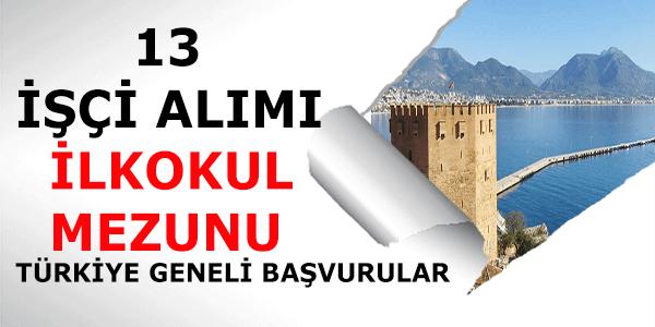 Sinop Belediyesi İşçi Alımı
