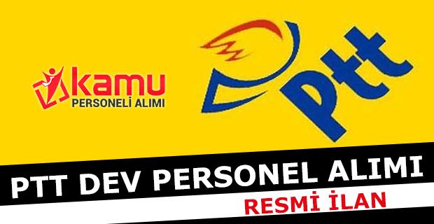 PTT Dev Personel Alımı 2017