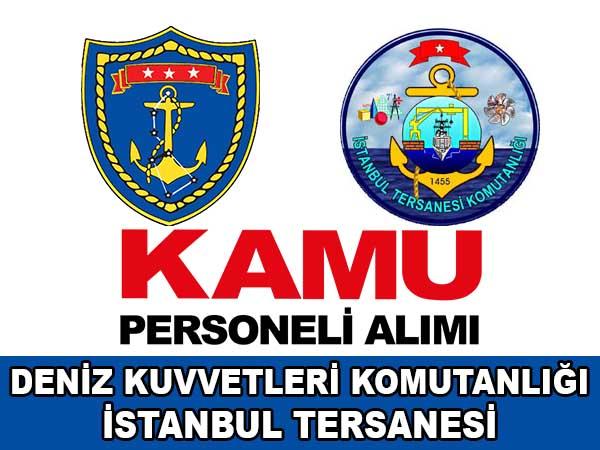 İstanbul Tersanesi Komutanlığı 4 İşçi Alımı