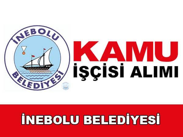 İnebolu Belediyesi KPSS Şartsız Personel Alımı Yapacak