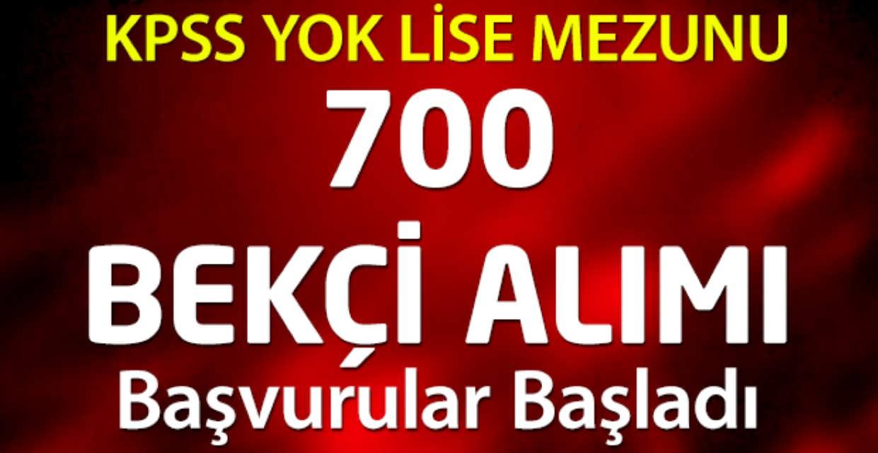 İstanbul 700 Bekçi Alımı Başvuruları Başladı