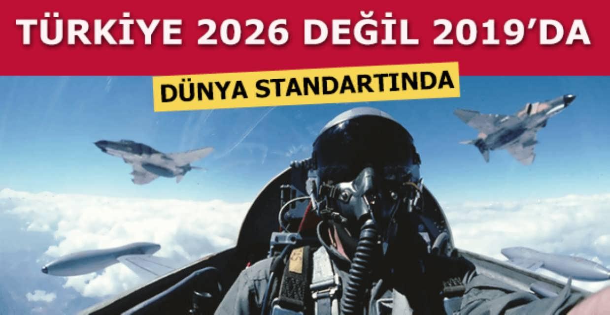 Hava Kuvvetleri 2026 Değil 2019 Dünya Standartlarında