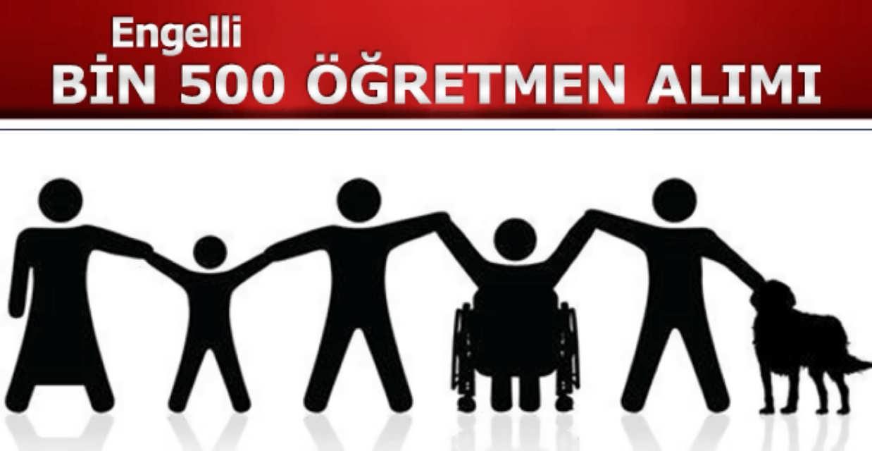 Bin 500 Engelli Öğretmen Alımı Tıkla Başvur