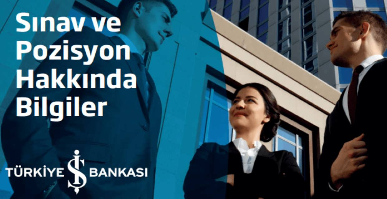 İş Bankası Memur Alımı 2017