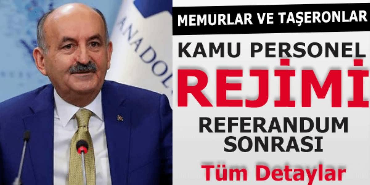 Bakan Müezzinoğlu Memur ve Taşeron İşçiler Kamu Reformu Açıklaması