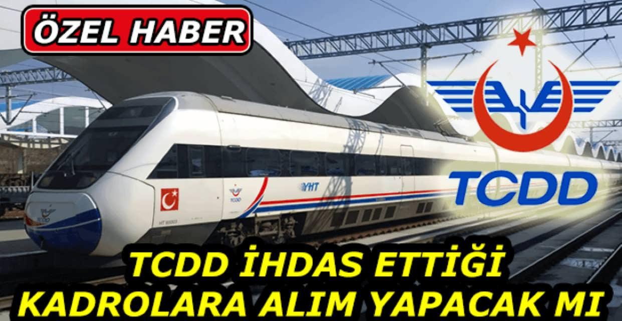 TCDD Personel Alımı Talebi