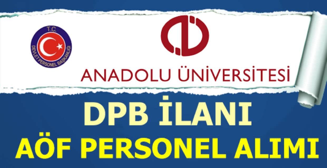 Anadolu Üniversitesi Memur Alımı