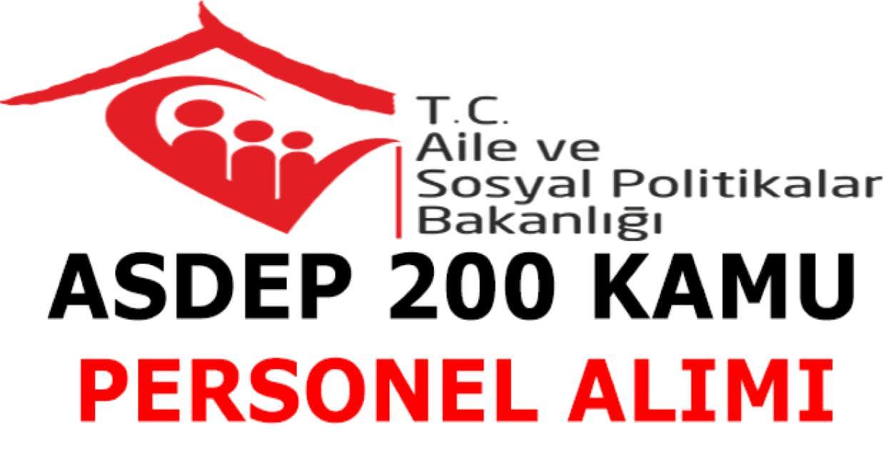 ASDEP 200 Memur Alımı 2017