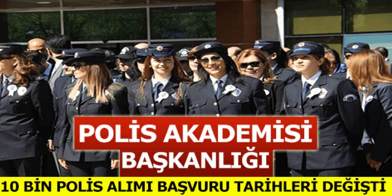 Polis Akademisi Başkanlığı 14 Nisan 2017 Duyurusu