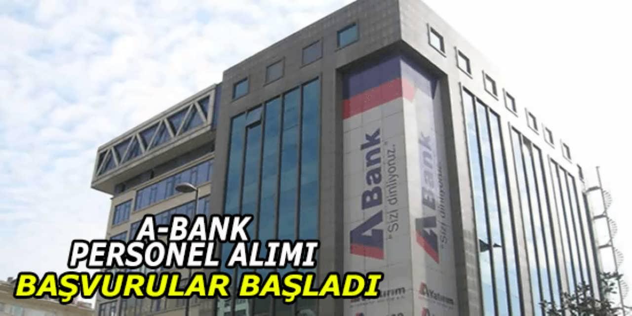 Alternatif Bank Personel Alımı Başvuruları Başladı