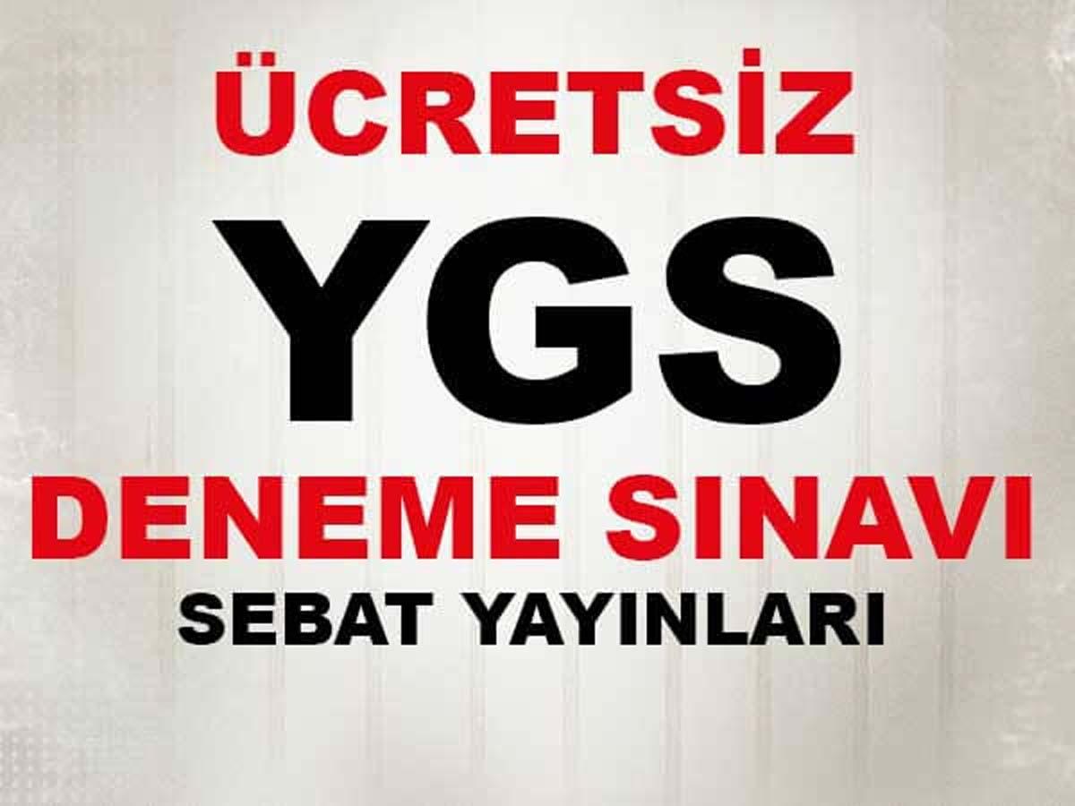 Ücretsiz YGS Deneme Sınavı Sebat Yayınları