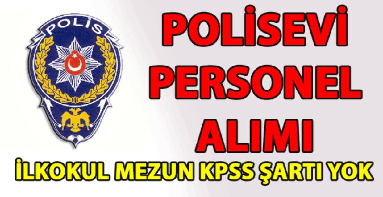 Balta Limanı Polisevi Müdürlüğü 32 İşçi Alımı 2017