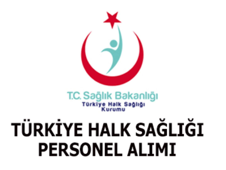Türkiye Halk Sağlığı Personel Alım İlanı