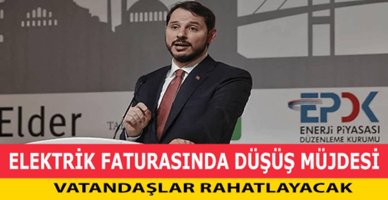Enerji Bakanı Elektrik Faturalarında Düşüş Yolda