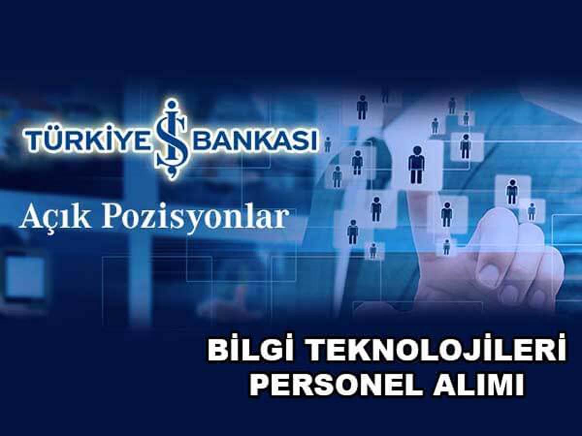 İş Bankası Personel Alımı 5 Mart 2016