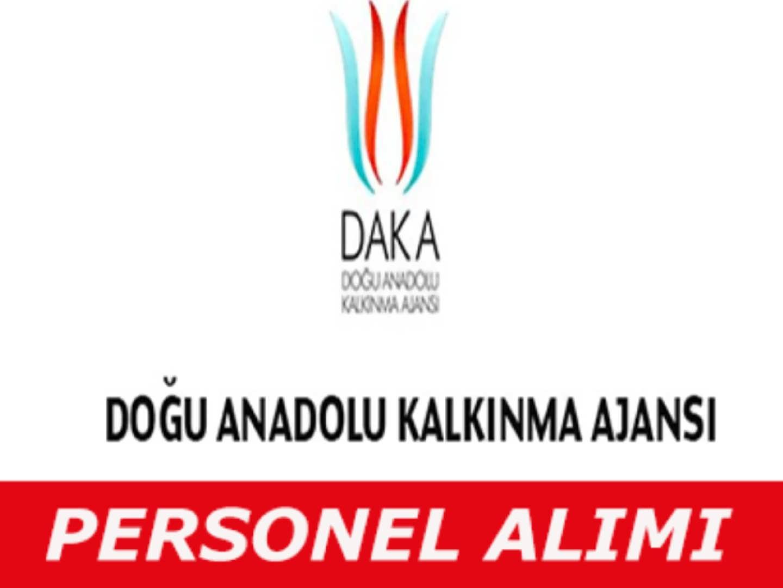 Doğu Anadolu Kalkınma Ajansı Personel Alım İlanı