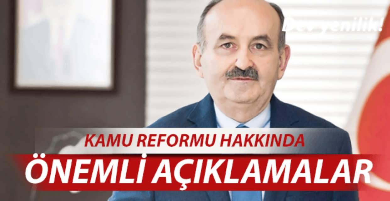 Kamu Personel Reformu Tarihi Belli Oldu