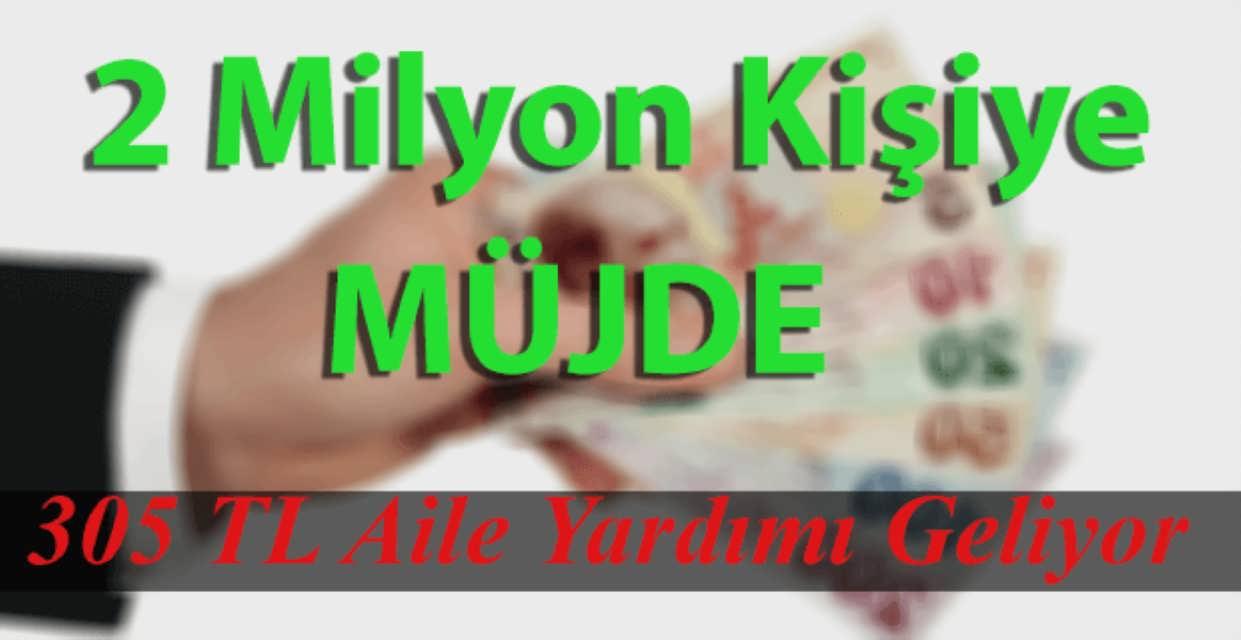 2 Milyon Memur Emeklisine 305 TL'ye Varan Aile Yardımı