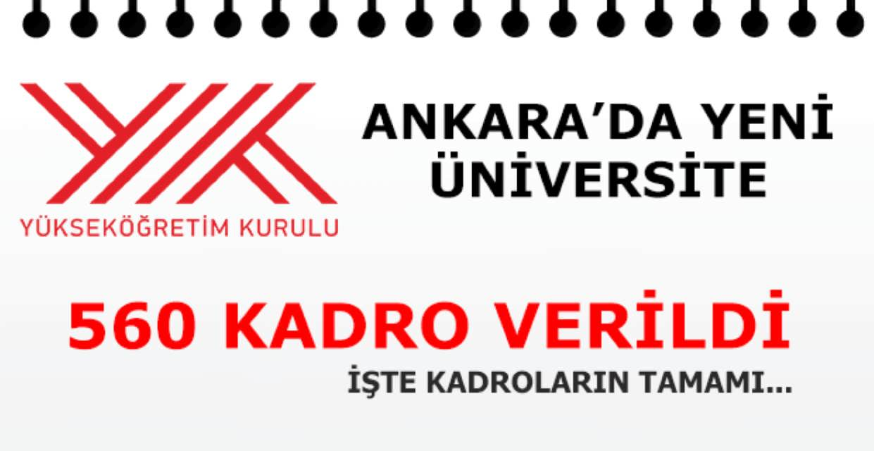 Ankara Güzel Sanatlar Üniversitesi Kuruldu 560 Kadro Verildi